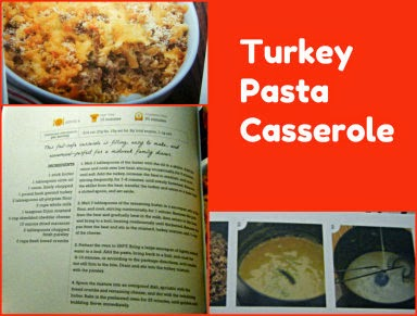 turkey pasta casserole