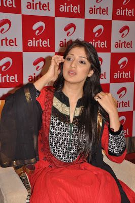 Tamil Actress Lakshmi Rai at AIRTEL Promotional Event