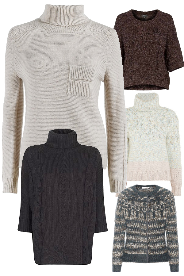 Tricot pullovers on www.designandfashionrecipes.com