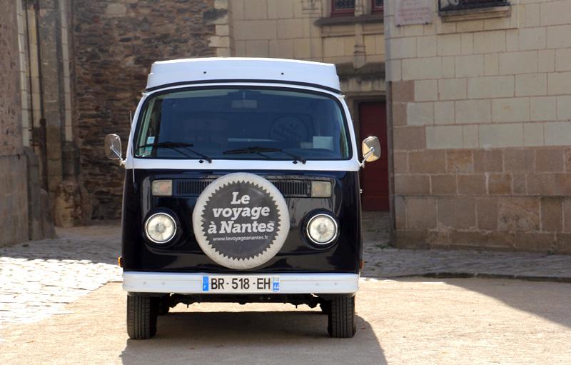 Voyage Nantes week-end tourisme culture van vintage
