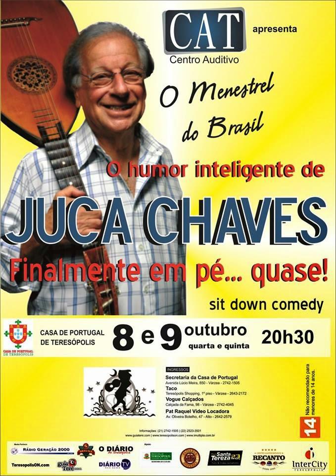 Juca Chaves em Teresópolis nesta semana