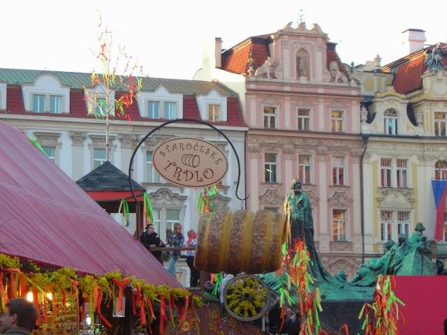 Czech food, food, Czech Republic, travel, terdelnik