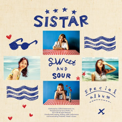 [Mini Album] SISTAR – Special Album 'SWEET & SOUR'