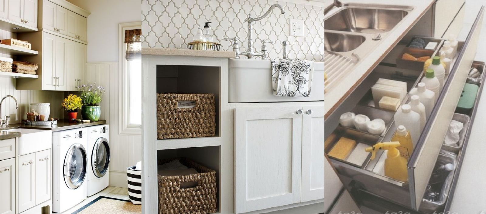 Cocina y lavander a en mismo espacio casas ideas for Cocina y lavanderia juntas