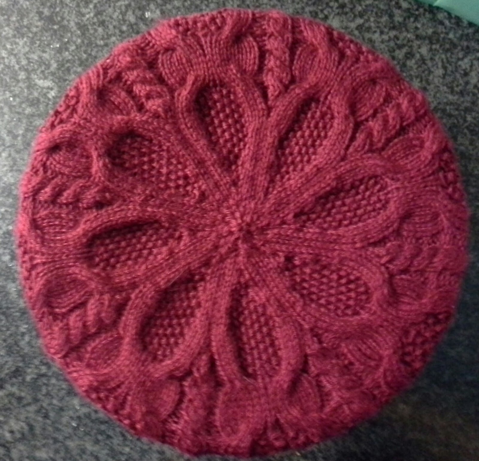 Free Knitted Flowers Patterns : Ozlornas Knitting Blog: Berets