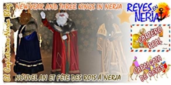 Cagalgata de Los Reyes Magos de Oriente en Nerja
