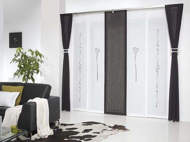 Disenyoss decoracion cortinas para nuestro salon - Cortinas o estores para salon ...