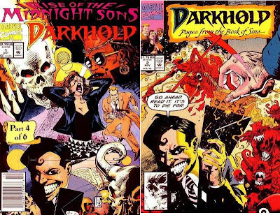 Darkhold 1 2 Cover recycled art