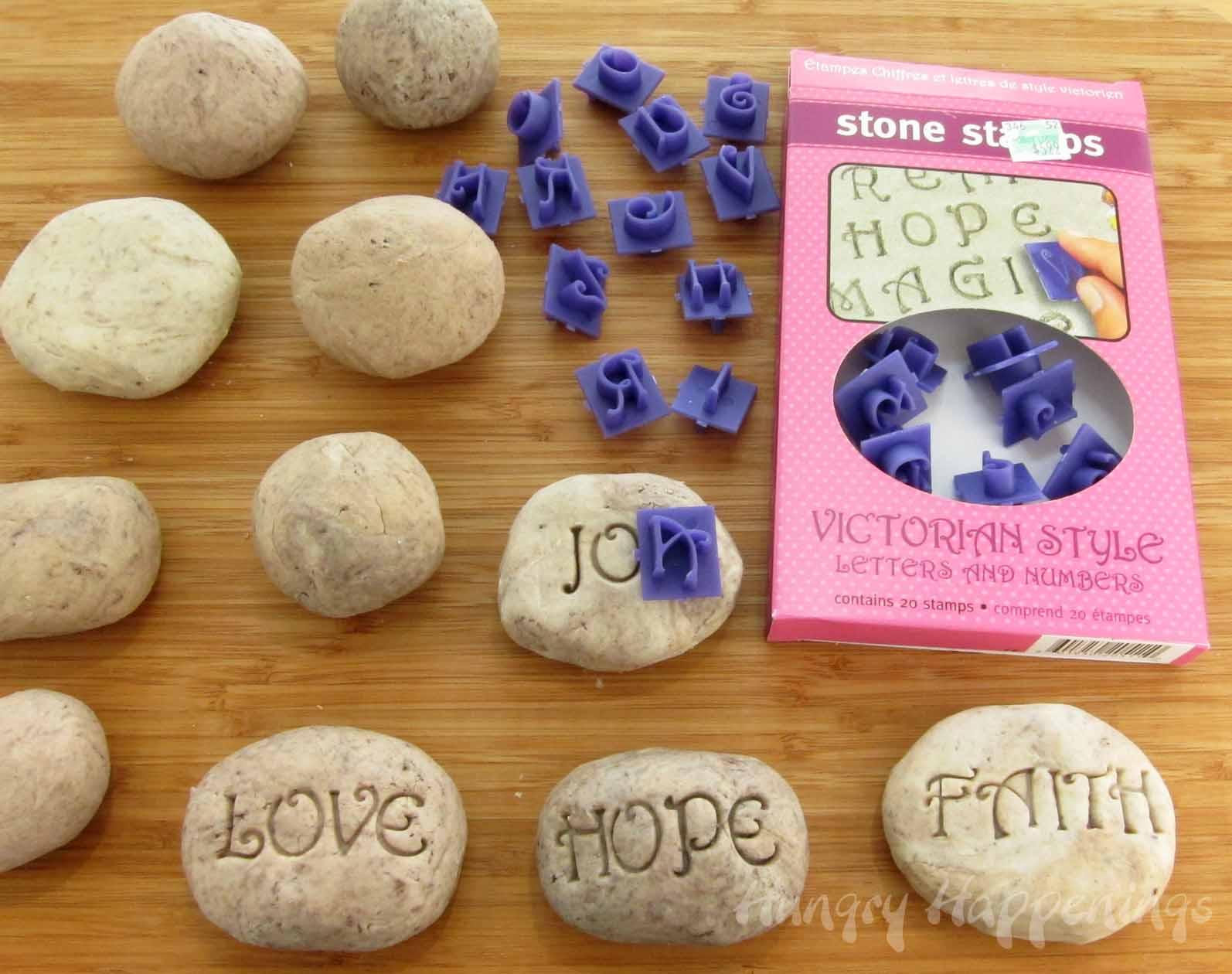 Fun teacher appreciation gifts edible fudge rocks for Crafts using stones