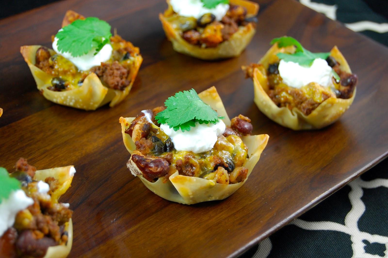 Tacos In A Cup Recipe — Dishmaps