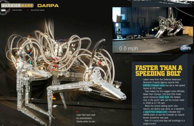 Robot Yang Boleh Berlari Lebih Laju Daripada Usain Bolt