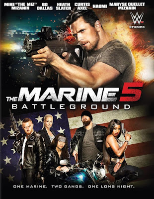The Marine 5: Battleground 2017 DVD Custom NTSC Sub