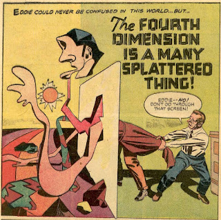 Alarming Tales 1--'The Fourth Dimension Is a Many Splattered Thing'