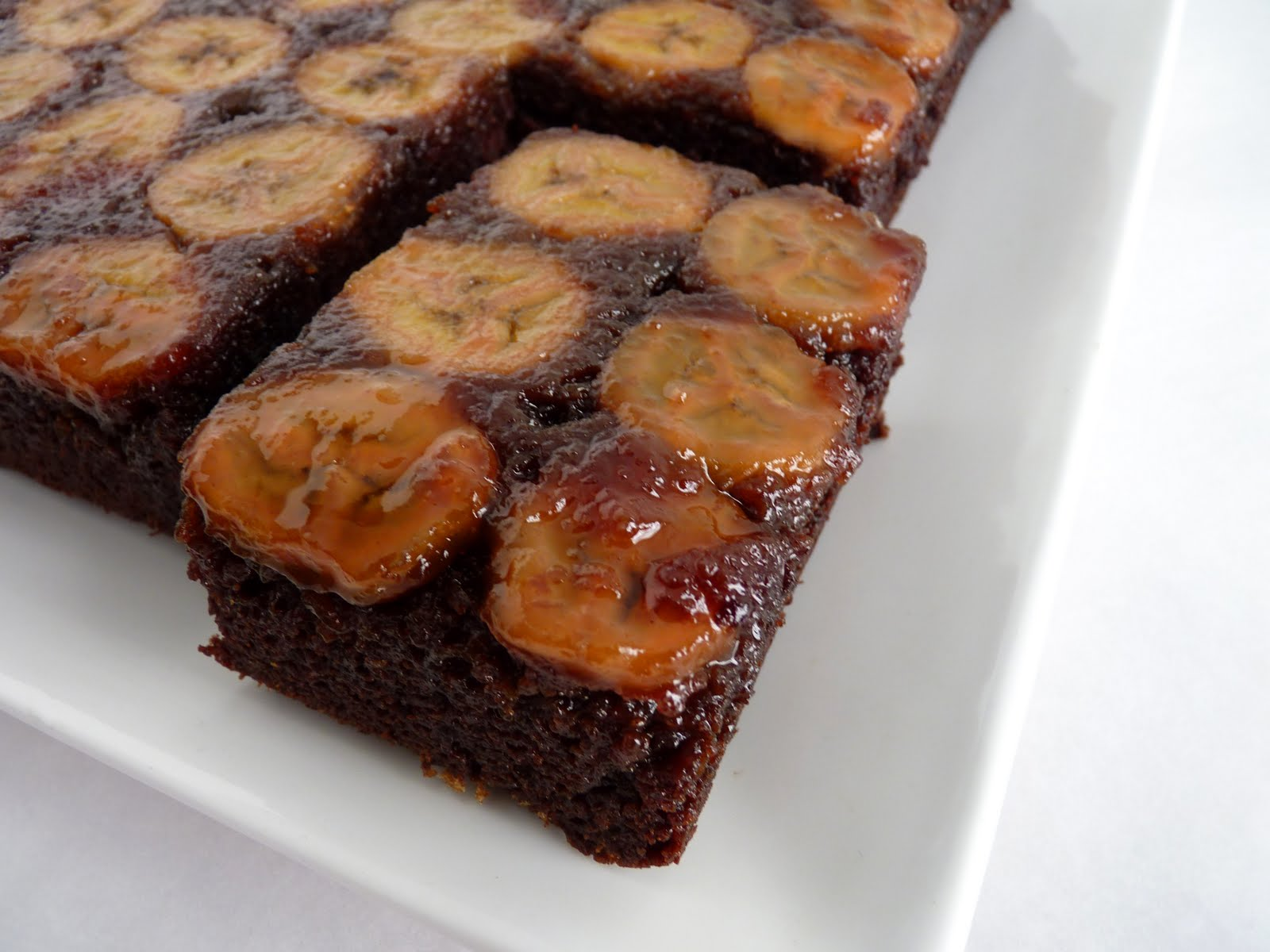 Banana Cajeta Upside Down Cake Recipe — Dishmaps