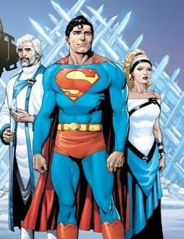 Superman. Jor-el, Lara