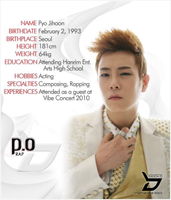 Block b profile members