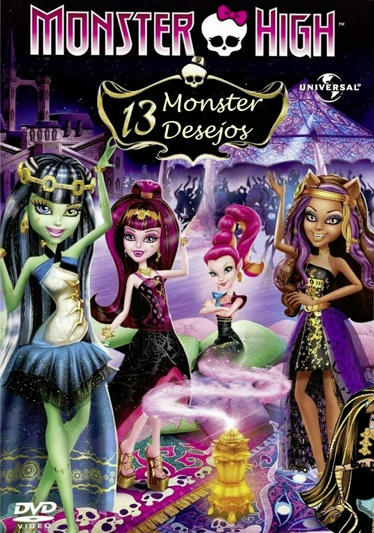 Monster High: 13 Monster Desejos – Dublado (2013)