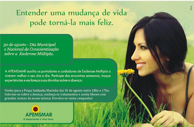 Dia Nacional da Conscientização da Esclerose Múltipla - APEMSMAR