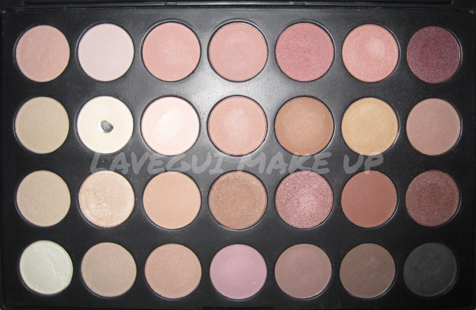 Lavegui make up paleta 28 neutrales ebay vs sombras mac - Paleta de colores neutros ...