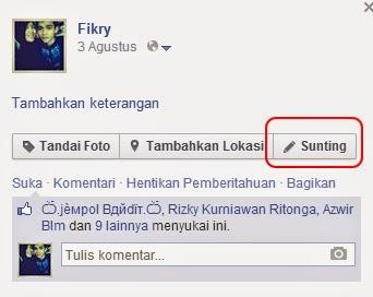 Cara Agar Foto Profile Facebook tidak bisa diklik