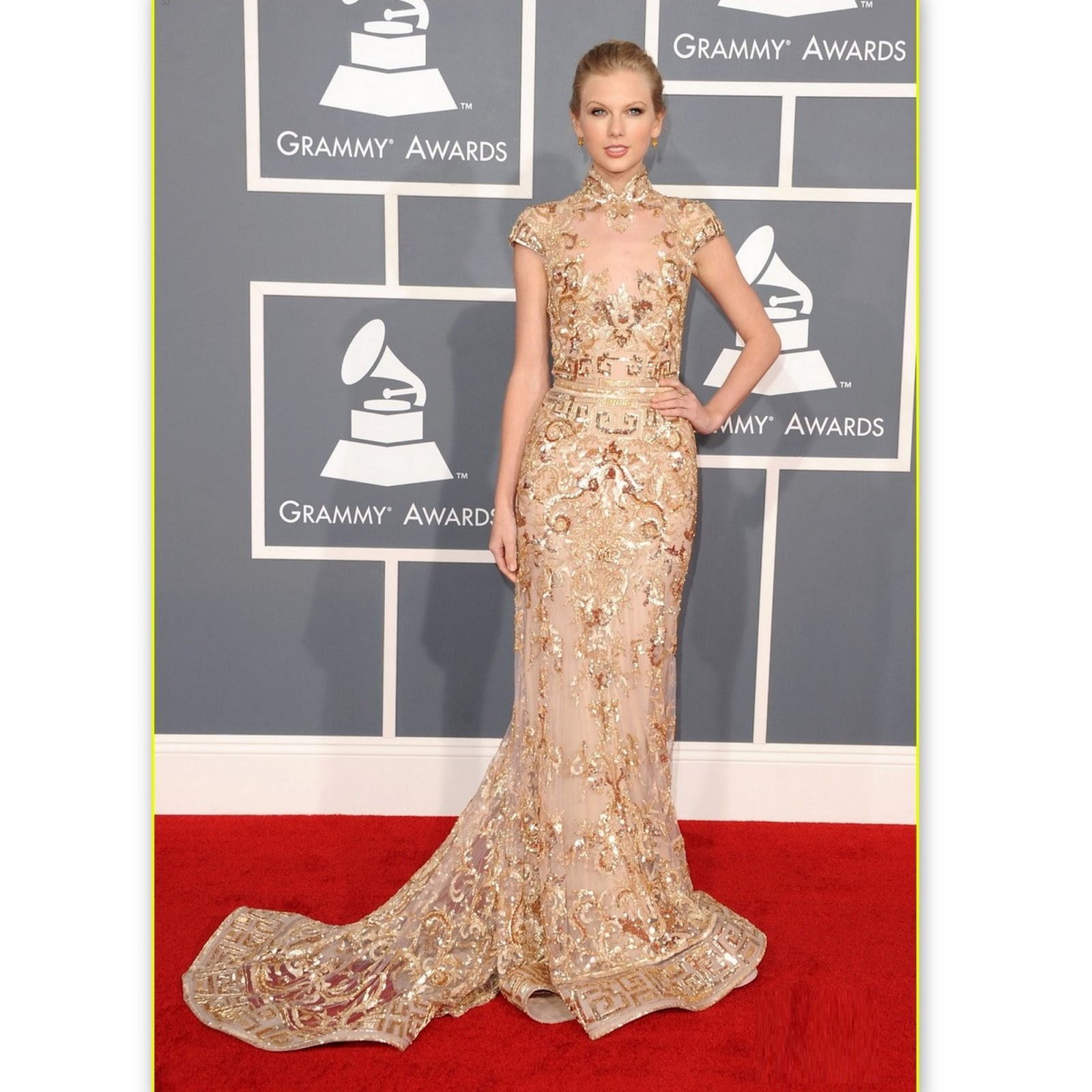 styledelights grammy awards 2012 red carpet