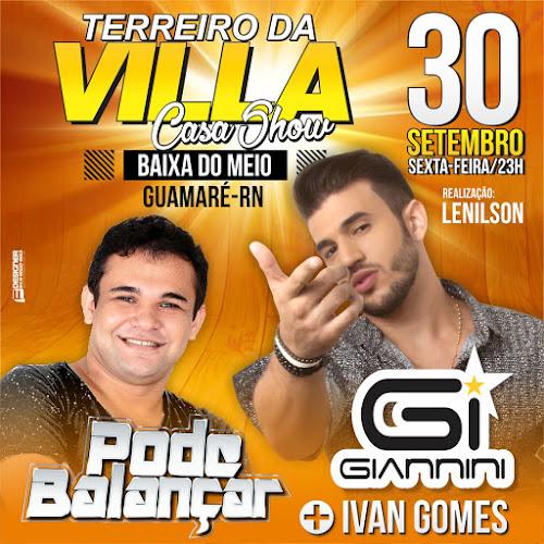 TERREIRO DA VILLA CASA SHOW EM GUAMARÉ/RN