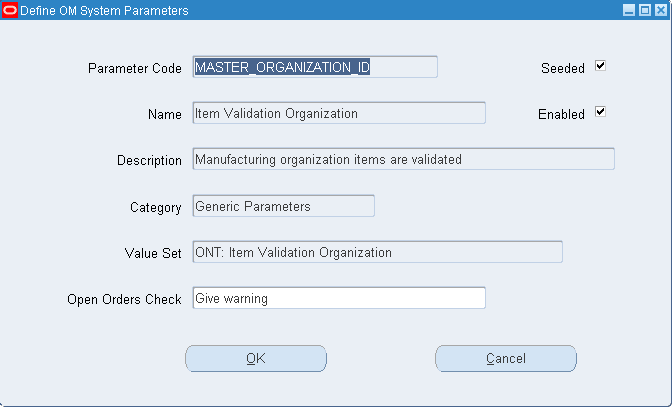 order management setting om system parameters learn oracle rh learnoracle in Oracle Purchase Order Module Oracle Purchase Order Module