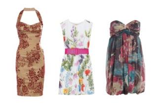 fotos e imagens de vestidos com florais