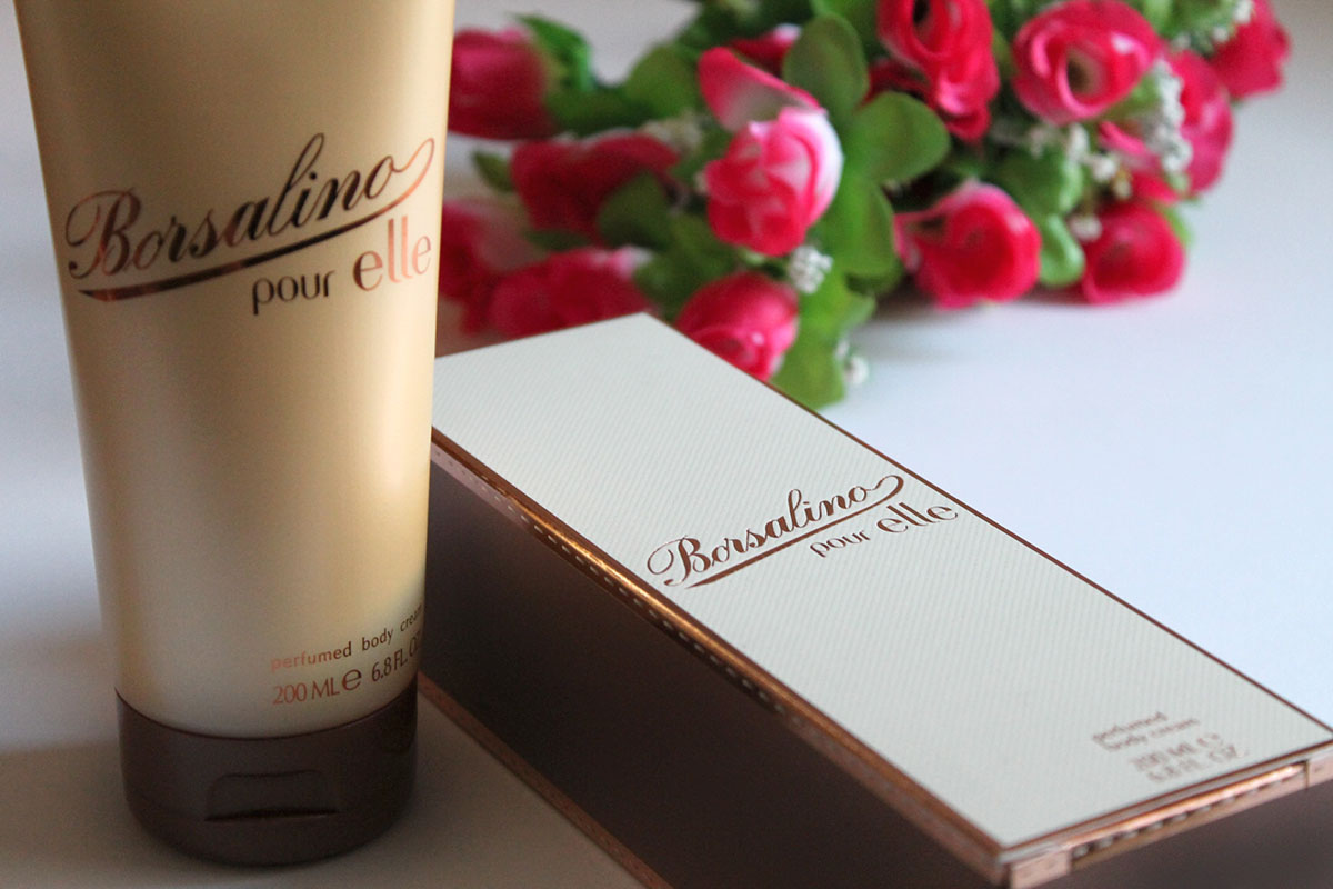 Borsalino, body lotion, sensitive, long lasting fragrance