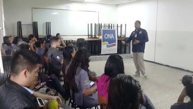 ONA capacita a estudiantes de la UPTM