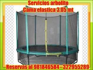 CAMA ELASTICA DE 3,05 MT