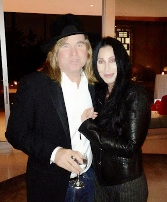 Val Kilmer and Cher in October, 2012
