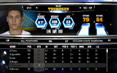 NBA 2K14 Roster Update 11-17-13