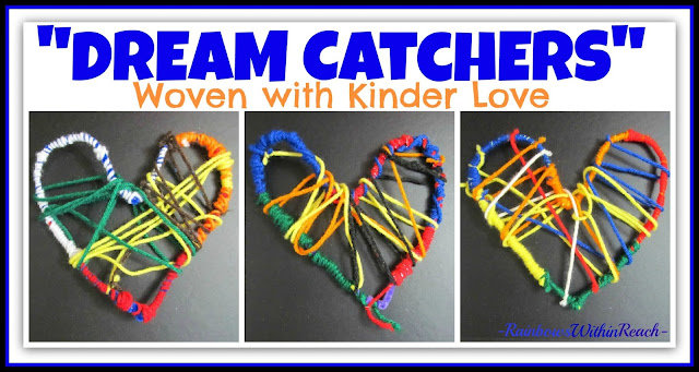 """Dream Catchers"" Woven with Kinder-Luv as Gifts for Debbie Clement of RainbowsWithinReach"