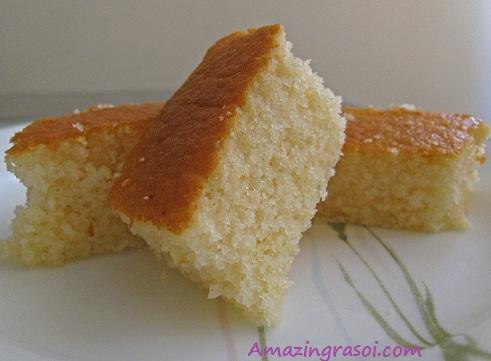 Cake Images Eggless : AmazingRasoi: Eggless Cake (Using curd)