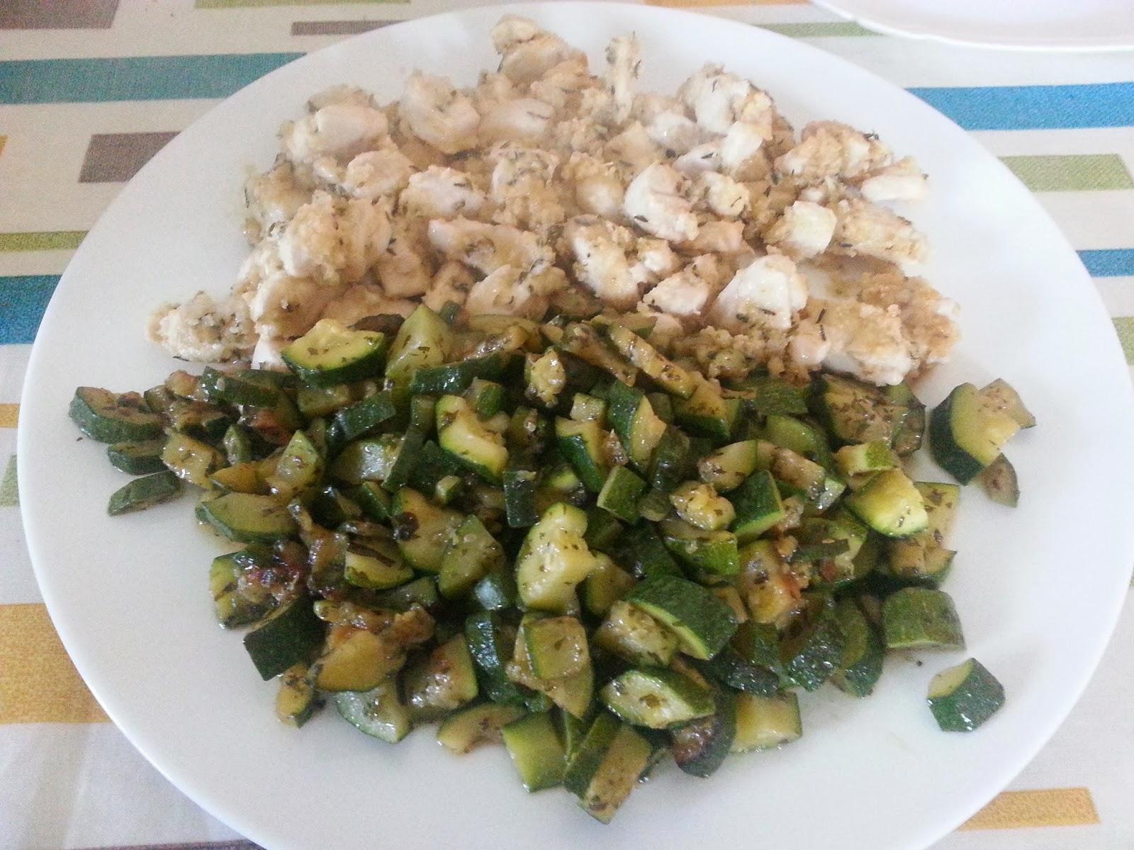 Le ricette di kiki pollo al limone con contorno - Cucinare le zucchine in modo dietetico ...