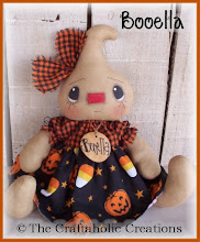 "Booella ~ 8"" sitting doll"
