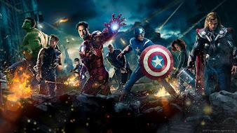 #1 Avengers Wallpaper