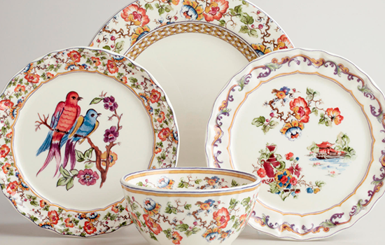 Are you aware of the Claudette Dinnerware Collection from World Market??? It\u0027s marvelous! & Aesthetic Oiseau: Claudette Chinoiserie Dinnerware
