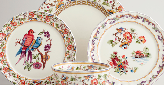 Aesthetic Oiseau Claudette Chinoiserie Dinnerware & World Market Dinnerware - Castrophotos