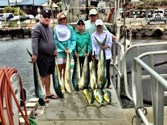 Rascal Fishing Charters targets Mahi Mahi, Ono and Yellow Fin Tuna