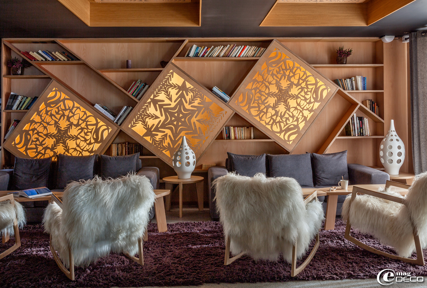5-star hotel in Val Thorens 'Altapura', a report of the magazine of decoration 'e-magDECO'