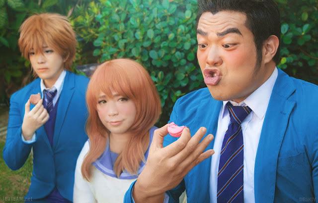 Cosplay Ore Monogatari!! - Gouda Takeo, Yamato Rinko, Sunakawa Makoto w realu