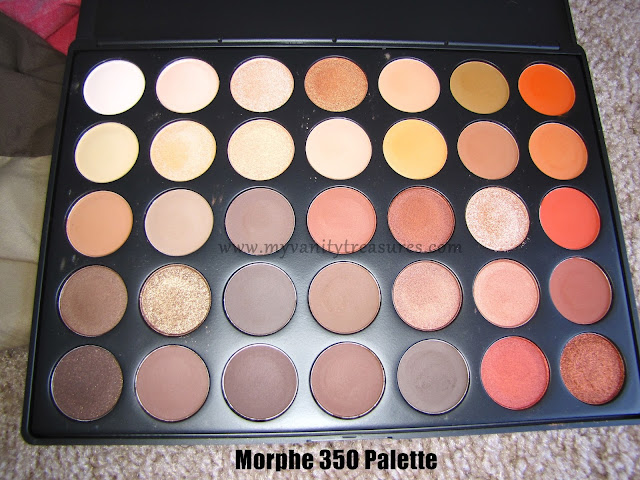 Morphe 35o Palette Review