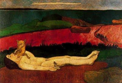 La pèrdua de la innocència (Paul Gauguin)