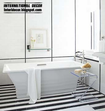 black and white floor tiles for bathroom and toilet, black floor tiles