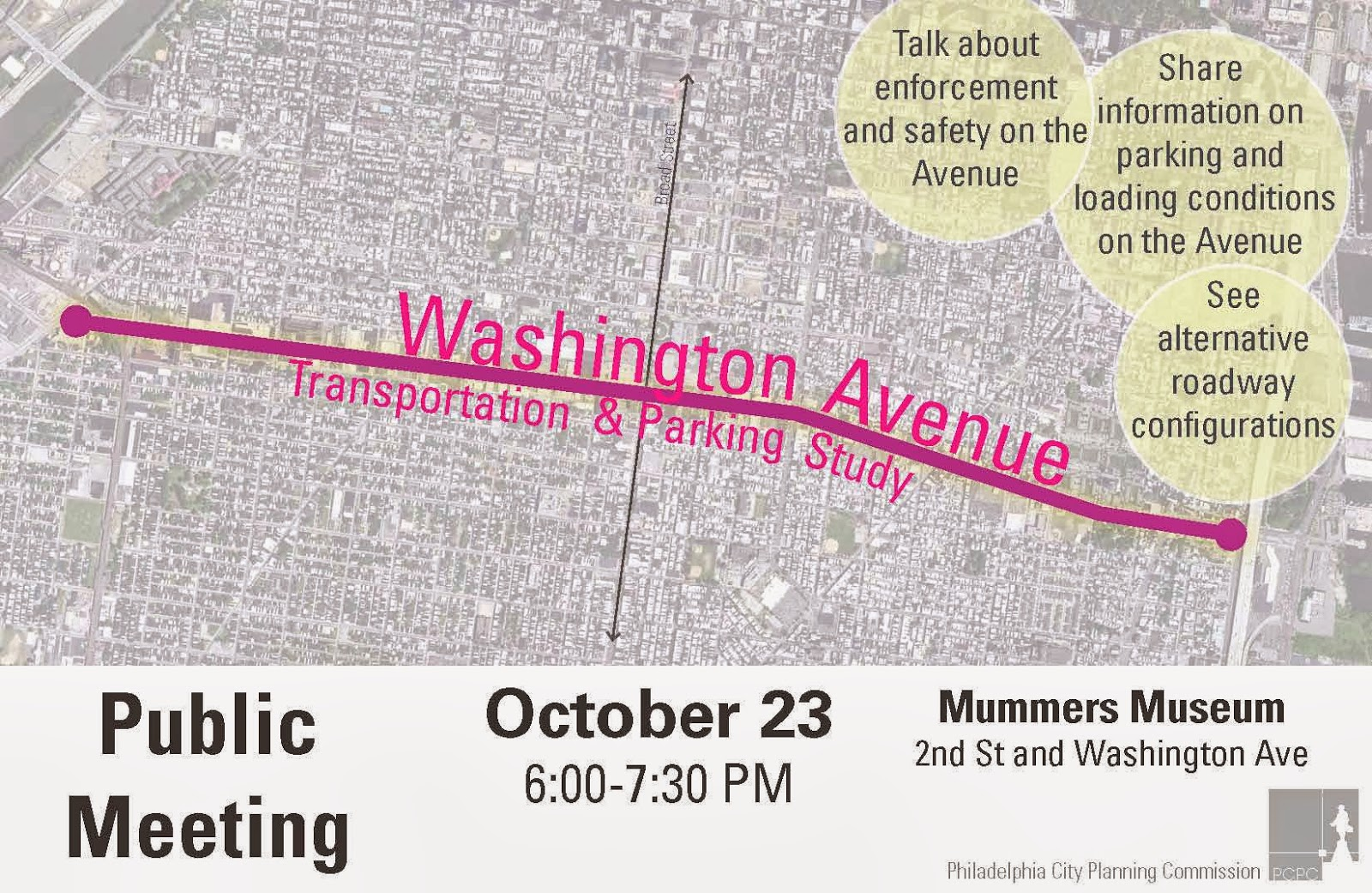 greater philadelphia bicycle news  got opinions about washington ave the city wants to hear them