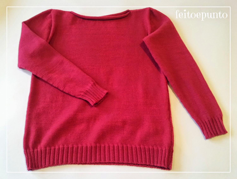 feitoepunto: Jersey tejido a máquina, ¡para adulto!