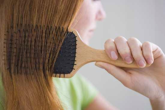 Cepillarse el pelo