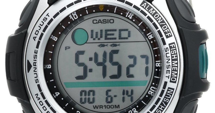casio moon phase watch instructions